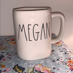 Rae Dunn Megan coffee mug